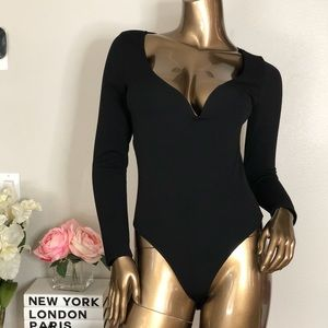 Sexy black bodysuit